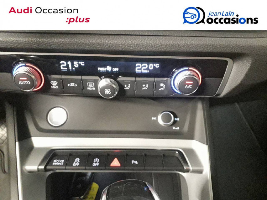 AUDI Q3 Q3 35 TFSI 150 ch S tronic 7 Design Luxe 06/03/2020                                                      en vente à La Motte-Servolex - Image n°14