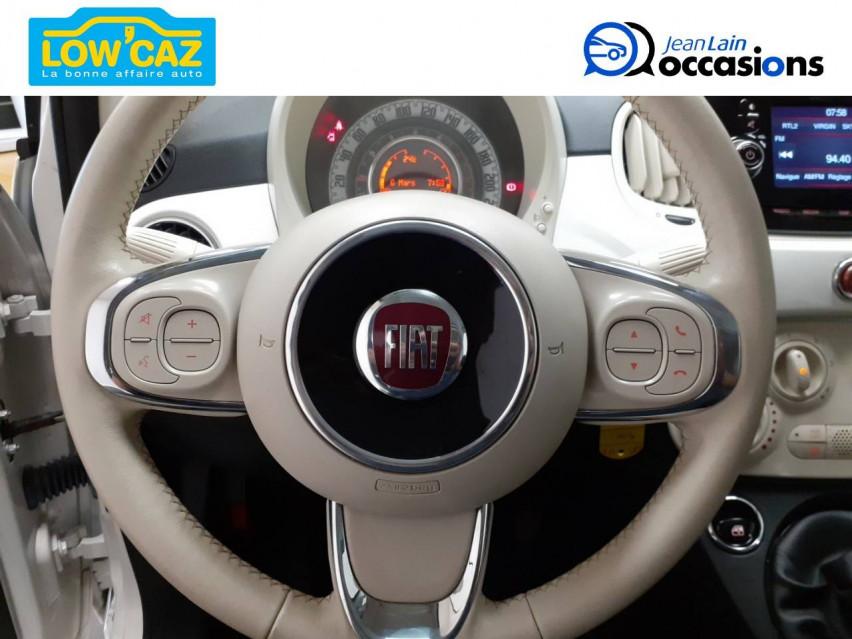 FIAT 500 MY17 500 1.2 69 ch Lounge 17/04/2019                                                      en vente à Sassenage - Image n°12