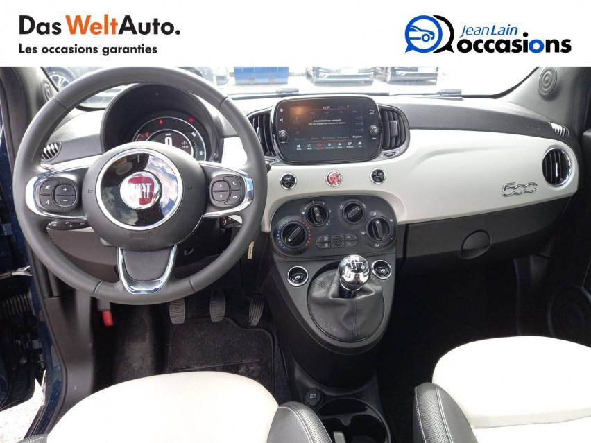 FIAT 500 MY20 SERIE 7 EURO 6D 500 1.2 69 ch Eco Pack S/S Star 08/07/2019                                                      en vente à Ville-la-Grand - Image n°18