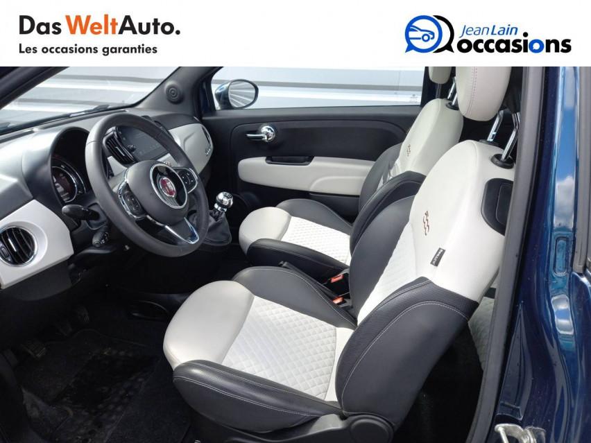 FIAT 500 MY20 SERIE 7 EURO 6D 500 1.2 69 ch Eco Pack S/S Star 08/07/2019                                                      en vente à Ville-la-Grand - Image n°11