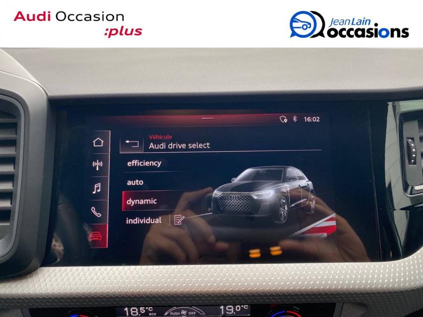 AUDI A1 SPORTBACK A1 Sportback 30 TFSI 116 ch S tronic 7 S line 30/11/2020                                                      en vente à Echirolles - Image n°15