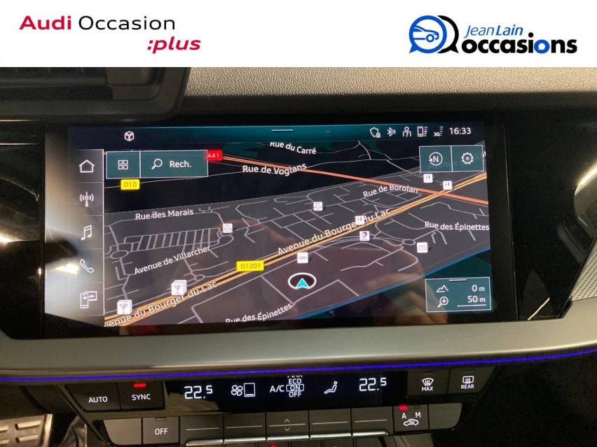 AUDI A3 SPORTBACK A3 Sportback 35 TDI 150 S tronic 7 S Line 30/10/2020                                                      en vente à La Motte-Servolex - Image n°15