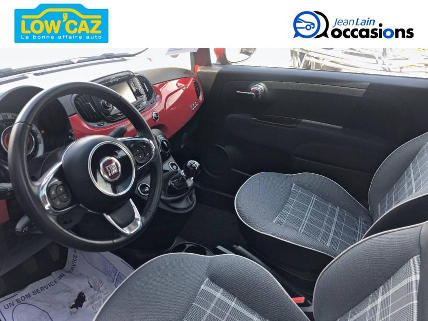 FIAT 500 MY17 500 1.2 69 ch Lounge 24/05/2019                                                      en vente à La Ravoire - Image n°11