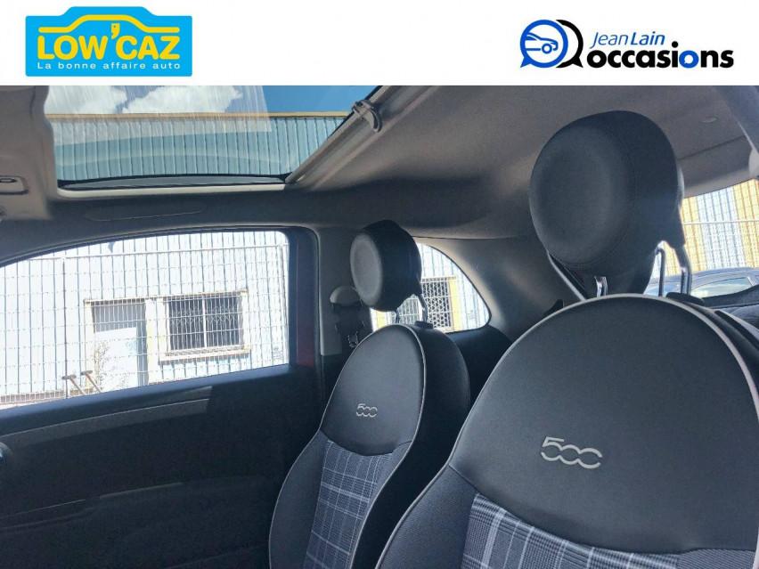 FIAT 500 MY17 500 1.2 69 ch Lounge 24/05/2019                                                      en vente à La Ravoire - Image n°12