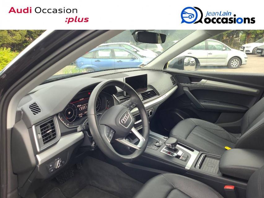 AUDI Q5 Q5 2.0 TDI 190 S tronic 7 Quattro Design Luxe 15/01/2018                                                      en vente à Cessy - Image n°11