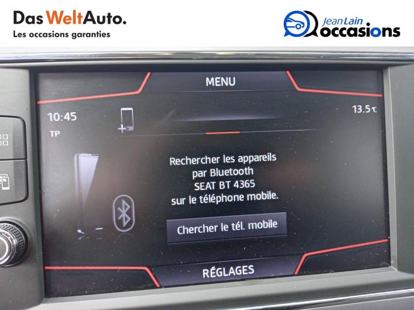 SEAT LEON Leon 1.0 TSI 115 Start/Stop BVM6 Style 11/06/2020                                                      en vente à Ville-la-Grand - Image n°16