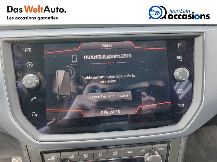 SEAT ARONA Arona 1.0 EcoTSI 95 ch Start/Stop BVM5 Xcellence 28/10/2019                                                      en vente à Sallanches - Image n°16