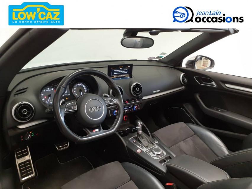 AUDI S3 CABRIOLET S3 Cabriolet 2.0 TFSI 300 Quattro S-Tronic 6 20/02/2015                                                      en vente à La Ravoire - Image n°11