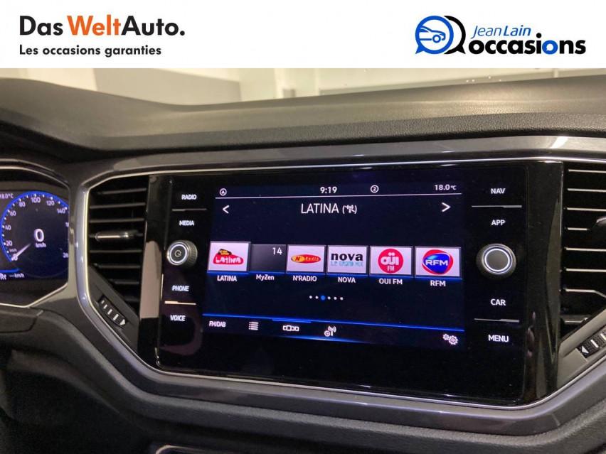 VOLKSWAGEN T-ROC T-Roc 2.0 TDI 150 Start/Stop DSG7 Carat 07/01/2021                                                      en vente à Cessy - Image n°16