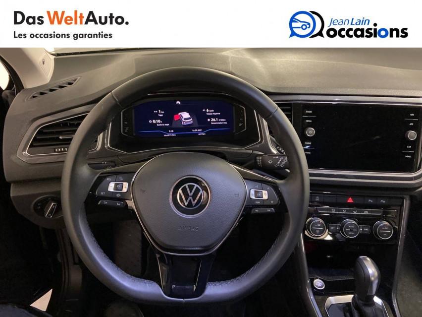 VOLKSWAGEN T-ROC T-Roc 2.0 TDI 150 Start/Stop DSG7 Carat 07/01/2021                                                      en vente à Cessy - Image n°12