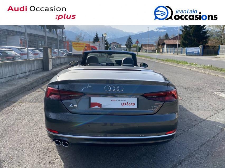 AUDI A5 CABRIOLET A5 Cabriolet 2.0 TDI 190 S tronic 7 Quattro S Line 24/05/2019                                                      en vente à Sallanches - Image n°6