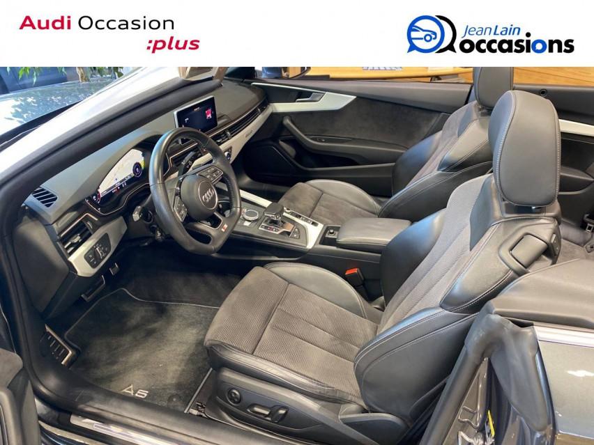 AUDI A5 CABRIOLET A5 Cabriolet 2.0 TDI 190 S tronic 7 Quattro S Line 24/05/2019                                                      en vente à Sallanches - Image n°11