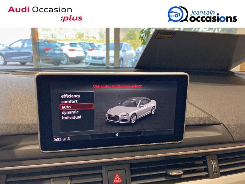 AUDI A5 CABRIOLET A5 Cabriolet 2.0 TDI 190 S tronic 7 Quattro S Line 24/05/2019                                                      en vente à Sallanches - Image n°19