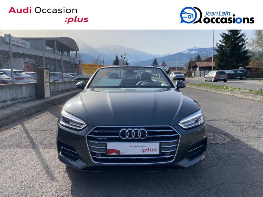 AUDI A5 CABRIOLET A5 Cabriolet 2.0 TDI 190 S tronic 7 Quattro S Line 24/05/2019                                                      en vente à Sallanches - Image n°2