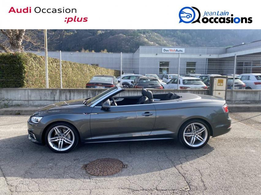 AUDI A5 CABRIOLET A5 Cabriolet 2.0 TDI 190 S tronic 7 Quattro S Line 24/05/2019                                                      en vente à Sallanches - Image n°8