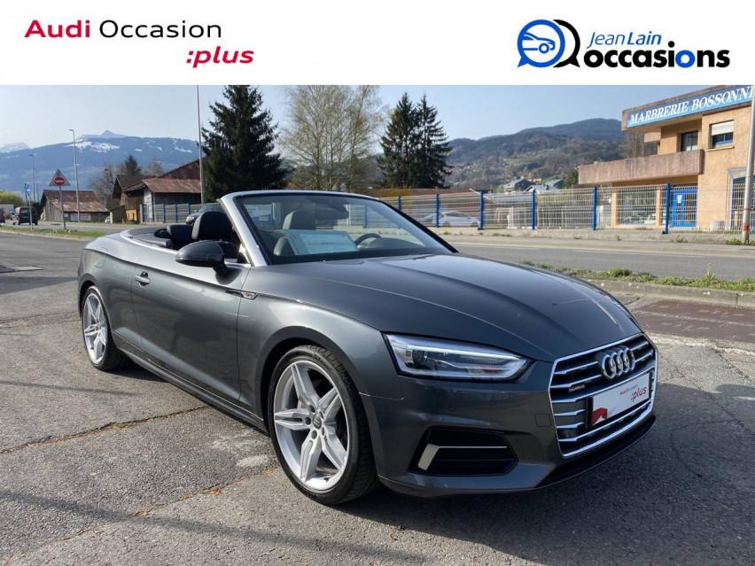 AUDI A5 CABRIOLET A5 Cabriolet 2.0 TDI 190 S tronic 7 Quattro S Line 24/05/2019                                                      en vente à Sallanches - Image n°3
