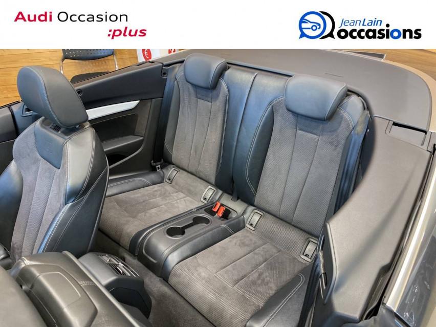 AUDI A5 CABRIOLET A5 Cabriolet 2.0 TDI 190 S tronic 7 Quattro S Line 24/05/2019                                                      en vente à Sallanches - Image n°17