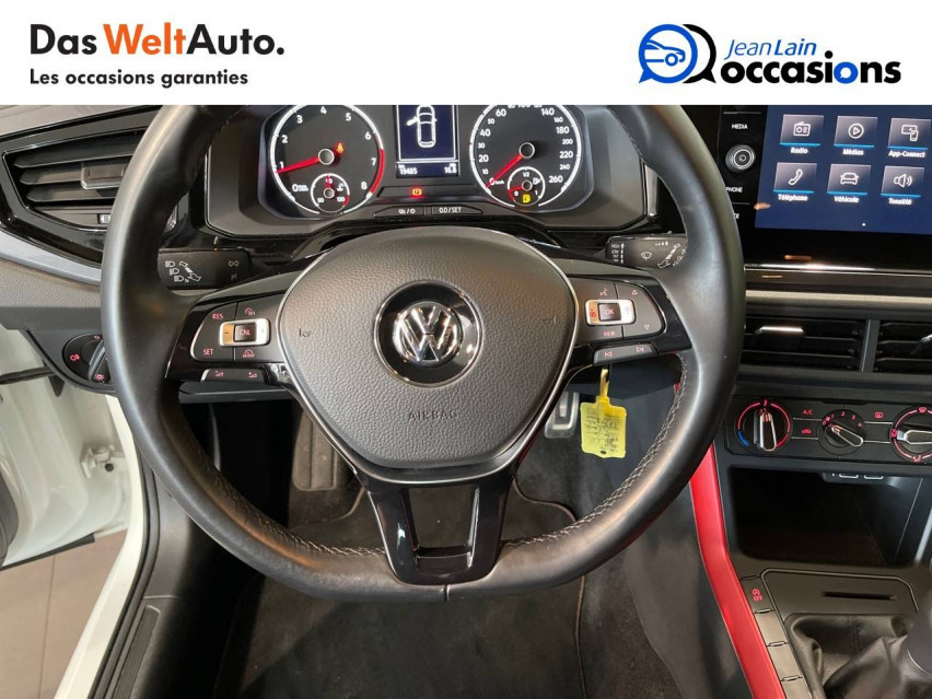 VOLKSWAGEN POLO Polo 1.0 65 S&S BVM5 Connect 30/01/2019                                                      en vente à Seynod - Image n°12