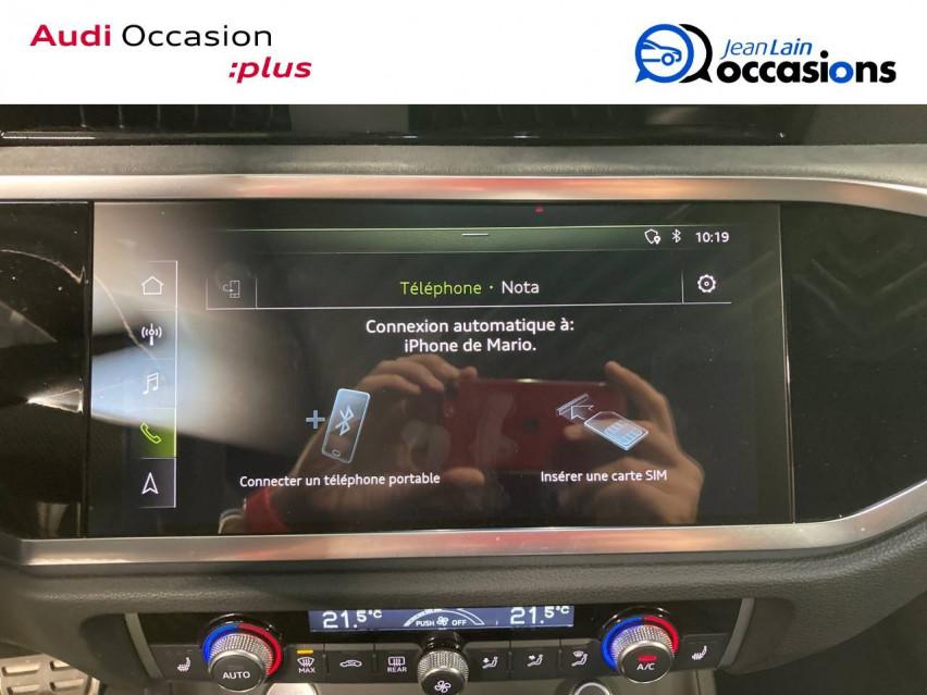 AUDI Q3 SPORTBACK Q3 Sportback 35 TDI 150 ch S tronic 7 S line 20/12/2019                                                      en vente à La Motte-Servolex - Image n°16