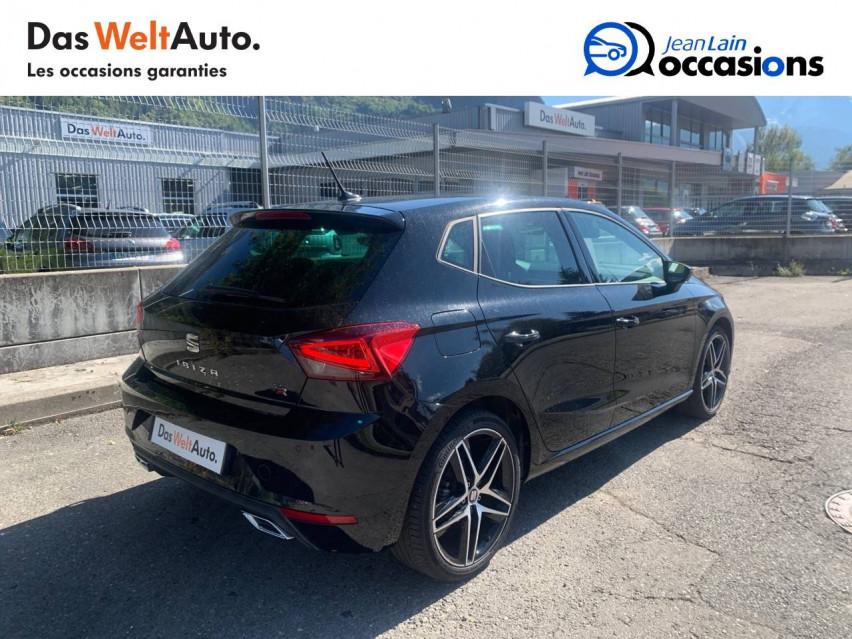 SEAT IBIZA Ibiza 1.0 EcoTSI 110 ch S/S DSG7 FR 30/04/2021                                                      en vente à Sallanches - Image n°5