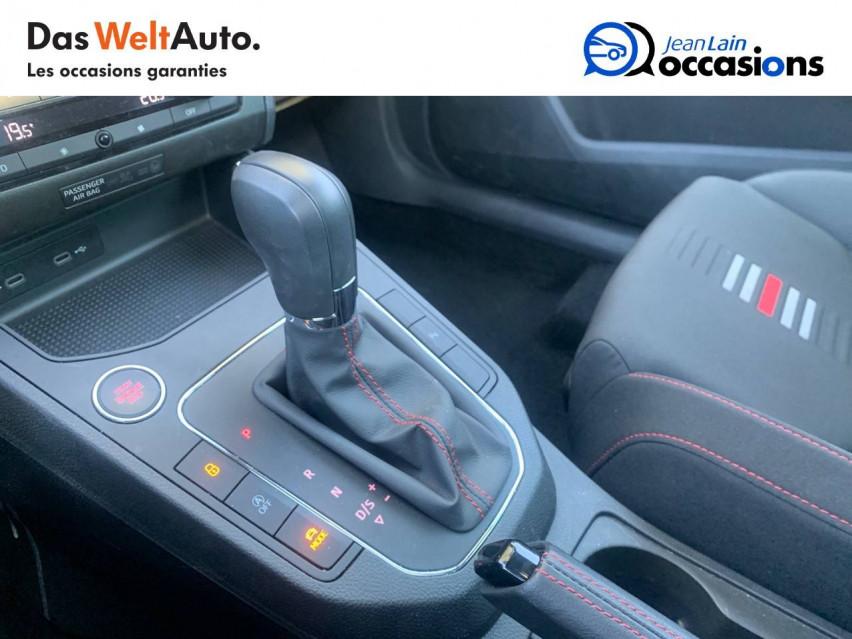 SEAT IBIZA Ibiza 1.0 EcoTSI 110 ch S/S DSG7 FR 30/04/2021                                                      en vente à Sallanches - Image n°13