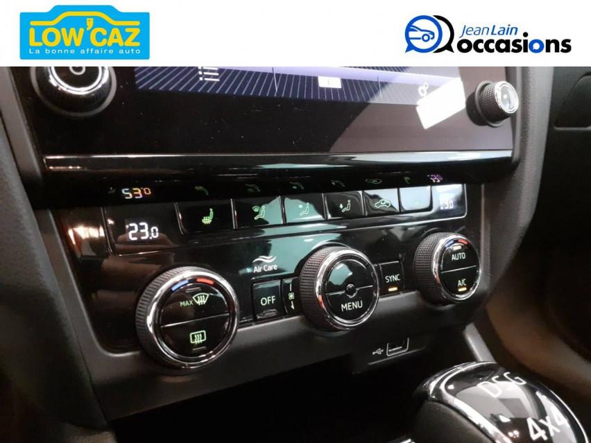 SKODA OCTAVIA COMBI Octavia Combi 2.0 TDI 150 ch CR FAP DSG7 4x4 Scout 01/02/2018                                                      en vente à Sassenage - Image n°14