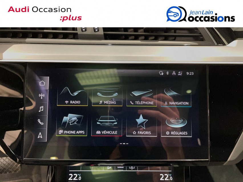 AUDI E-TRON SPORTBACK e-tron Sportback 55 quattro 408 ch S line 27/10/2020                                                      en vente à Albertville - Image n°15