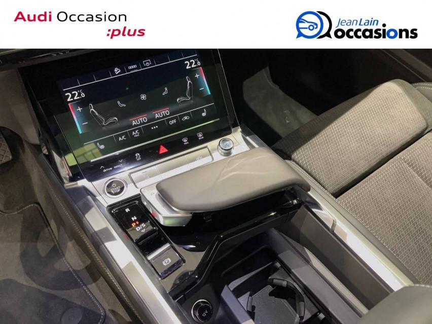 AUDI E-TRON SPORTBACK e-tron Sportback 55 quattro 408 ch S line 27/10/2020                                                      en vente à Albertville - Image n°13
