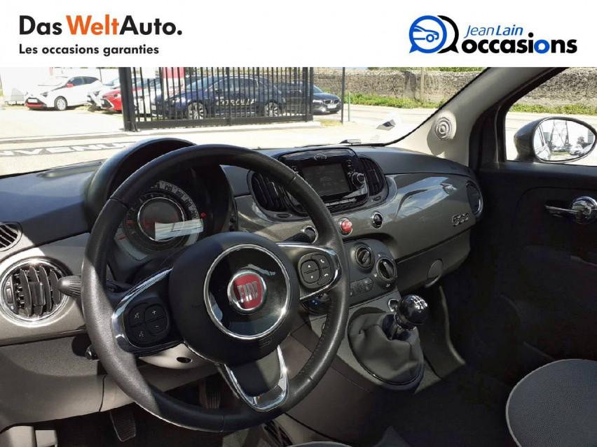 FIAT 500 MY17 500 1.2 69 ch Lounge 08/02/2019                                                      en vente à Valence - Image n°11