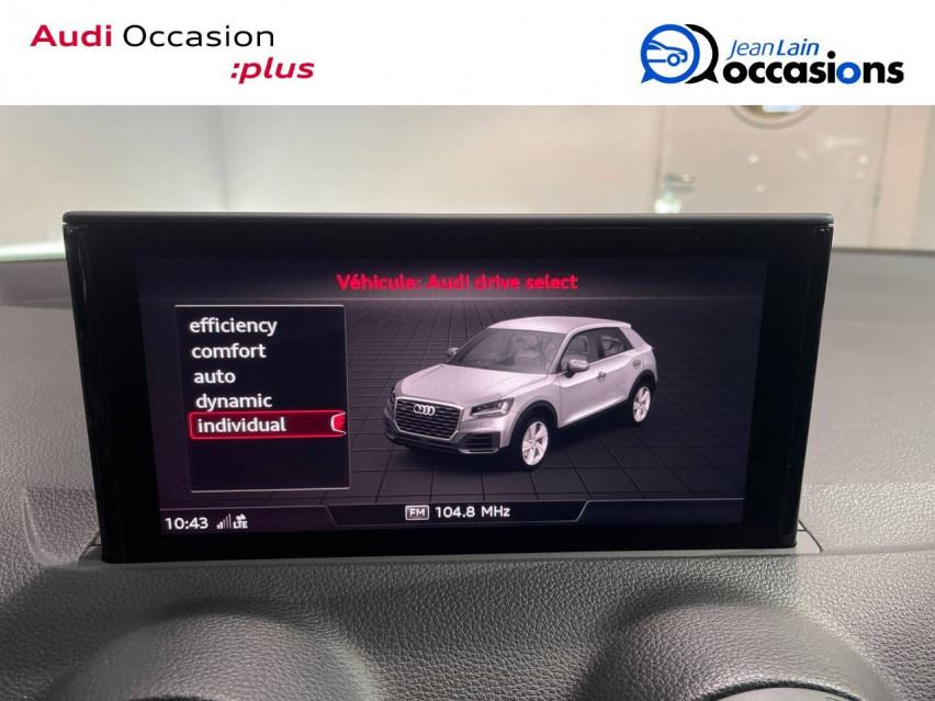 AUDI Q2 Q2 35 TFSI 150 S tronic 7 Design Luxe 03/12/2020                                                      en vente à Seynod - Image n°16