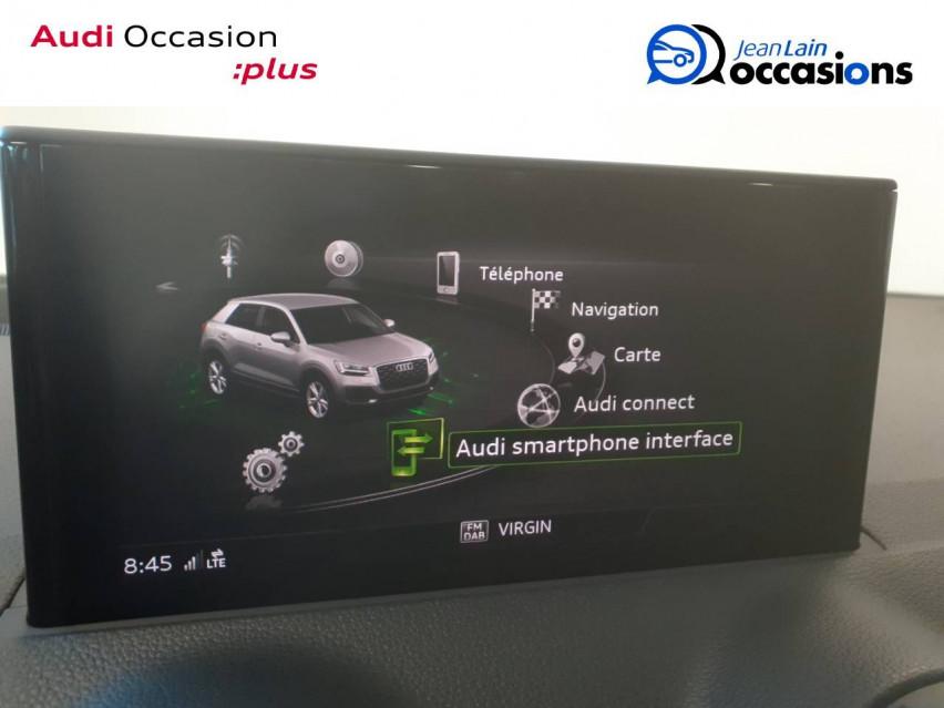 AUDI Q2 Q2 35 TFSI 150 S tronic 7 Design Luxe 13/08/2020                                                      en vente à Voiron - Image n°16