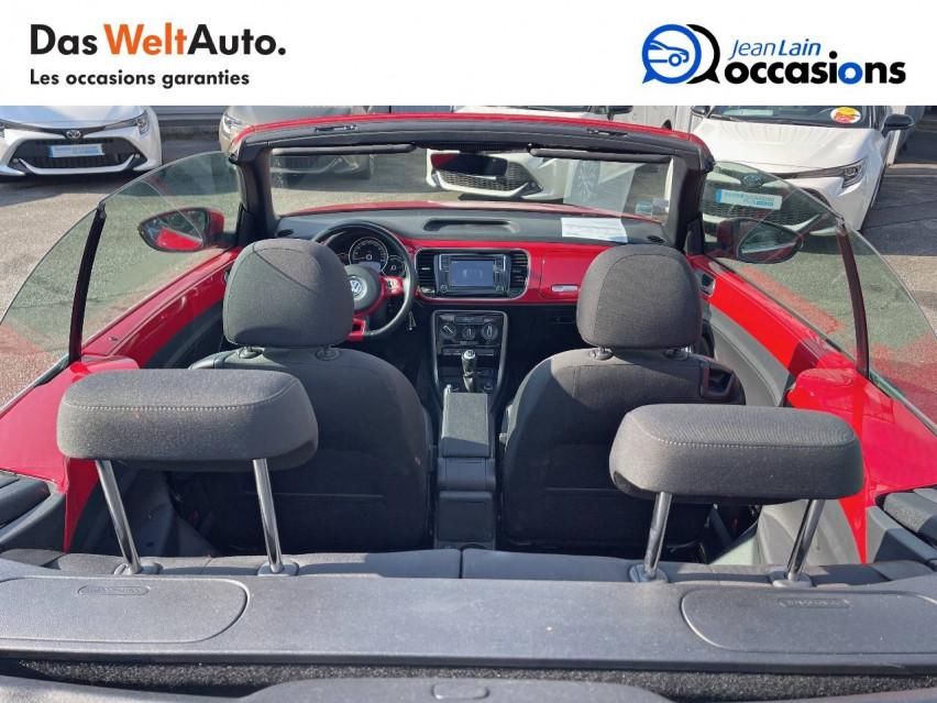 VOLKSWAGEN COCCINELLE CABRIOLET Coccinelle Cabriolet 1.2 TSI 105 BMT BVM6 Design 20/01/2017                                                      en vente à Crolles - Image n°20