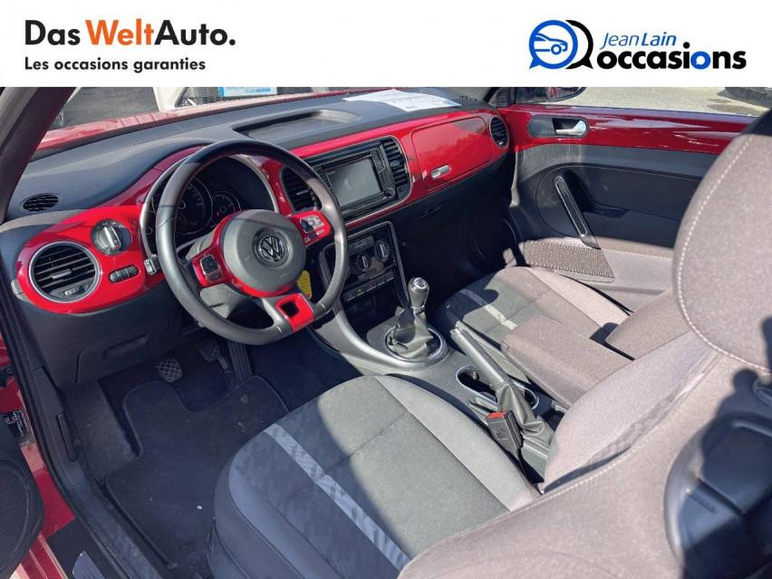 VOLKSWAGEN COCCINELLE CABRIOLET Coccinelle Cabriolet 1.2 TSI 105 BMT BVM6 Design 20/01/2017                                                      en vente à Crolles - Image n°11