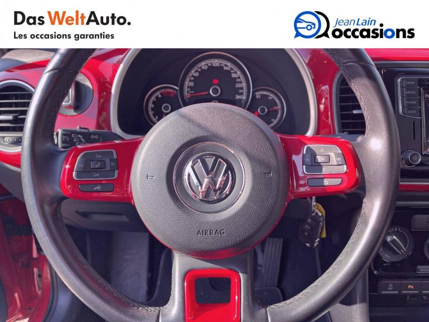 VOLKSWAGEN COCCINELLE CABRIOLET Coccinelle Cabriolet 1.2 TSI 105 BMT BVM6 Design 20/01/2017                                                      en vente à Crolles - Image n°12