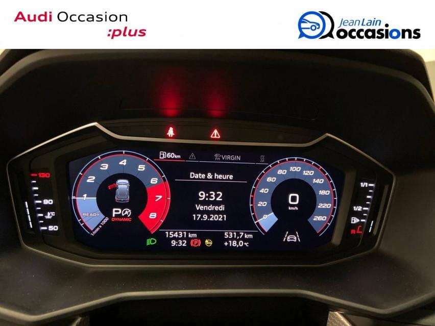 AUDI A1 SPORTBACK A1 Sportback 30 TFSI 116 ch S tronic 7 S line 24/11/2020                                                      en vente à Cessy - Image n°15