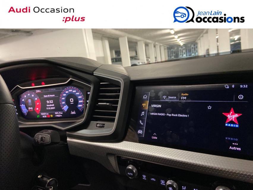 AUDI A1 SPORTBACK A1 Sportback 30 TFSI 116 ch S tronic 7 S line 24/11/2020                                                      en vente à Cessy - Image n°16