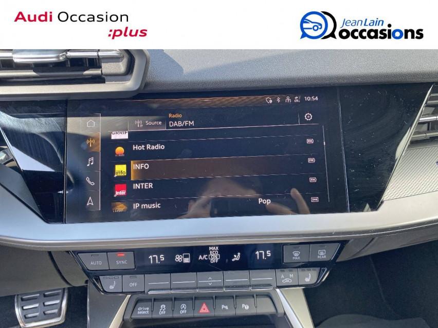 AUDI A3 SPORTBACK A3 Sportback 35 TDI 150 S tronic 7 S Line 30/10/2020                                                      en vente à Ville-la-Grand - Image n°16