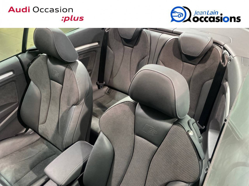AUDI S3 CABRIOLET S3 Cabriolet TFSI 300 ch S tronic 7 Quattro 13/04/2019                                                      en vente à Seynod - Image n°17