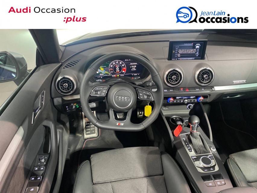 AUDI S3 CABRIOLET S3 Cabriolet TFSI 300 ch S tronic 7 Quattro 13/04/2019                                                      en vente à Seynod - Image n°11