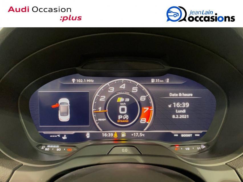 AUDI S3 CABRIOLET S3 Cabriolet TFSI 300 ch S tronic 7 Quattro 13/04/2019                                                      en vente à Seynod - Image n°16