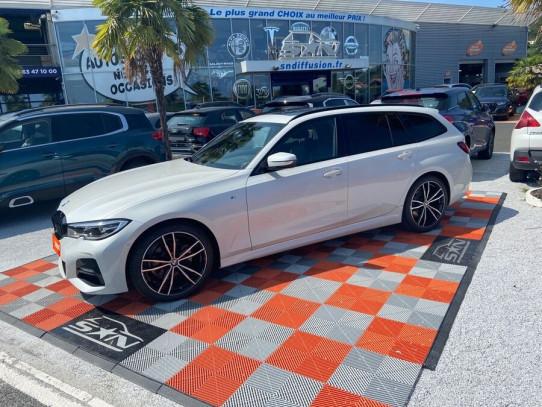 """Acheter BMW Série 3 (G21) TOURING 320D 190 BVA8 M SPORT Toit Ouvrant JA 19"""" chez SN Diffusion"""