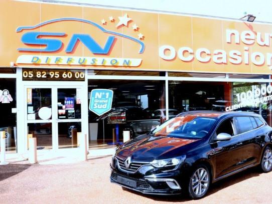 Acheter RENAULT Megane Estate IV Blue dCi 115 PACK GT LINE GPS chez SN Diffusion