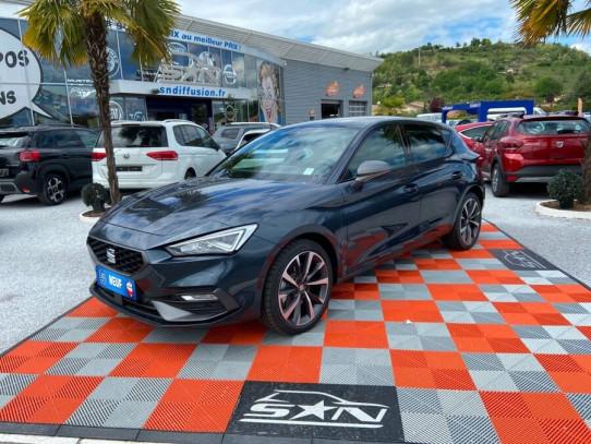 Acheter SEAT Leon New 1.4 EHYBRID 204 DSG FR GPS LED Toit Ouv Pano JA18 chez SN Diffusion