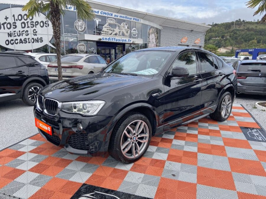 "Acheter BMW X4 XDRIVE 20DA 190 BVA8 M SPORT JA 19"" chez SN Diffusion"
