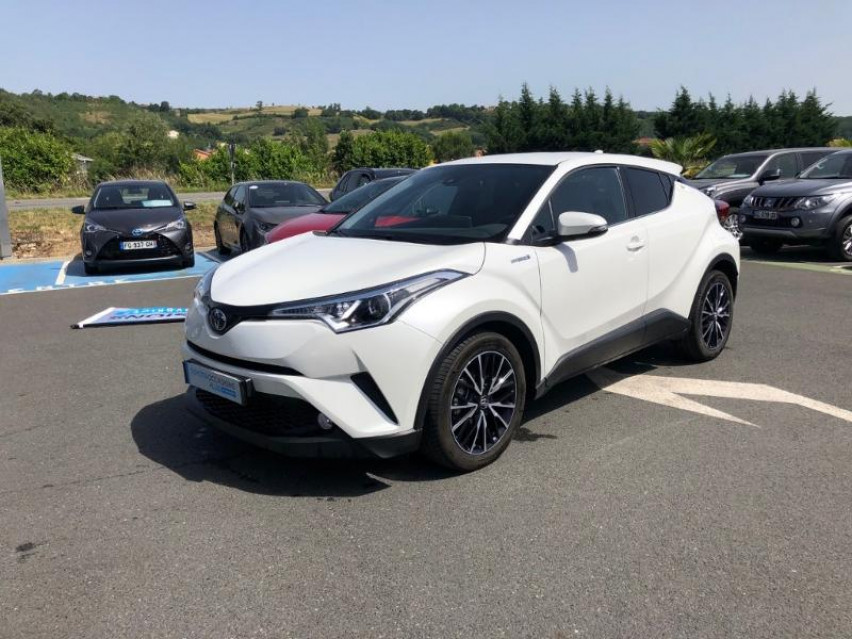 Photo voiture TOYOTA C-HR 122h Edition 2WD E-CVT     occasion en vente à Albi à 27 600 euros