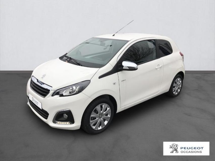 Photo voiture PEUGEOT 108 VTi 72 Style S&S 85g 3p     occasion en vente à Castres à 8990 euros