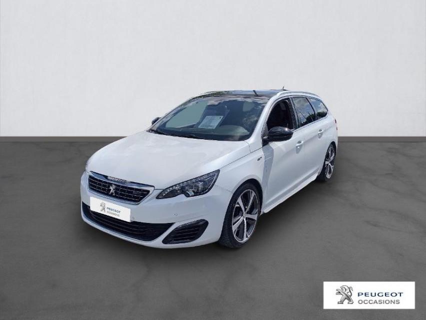 Photo voiture PEUGEOT 308 SW 2.0 BlueHDi 180ch GT S&S EAT6     occasion en vente à Castres à 17296 euros