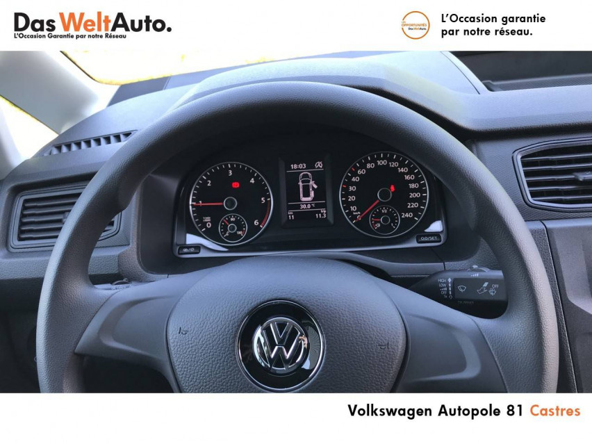 Photo voiture VOLKSWAGEN Caddy Van VUL CADDY VAN 2.0 TDI 102 BVM5 BUSINESS LINE 4p     occasion en vente à Castres à 16 990 euros