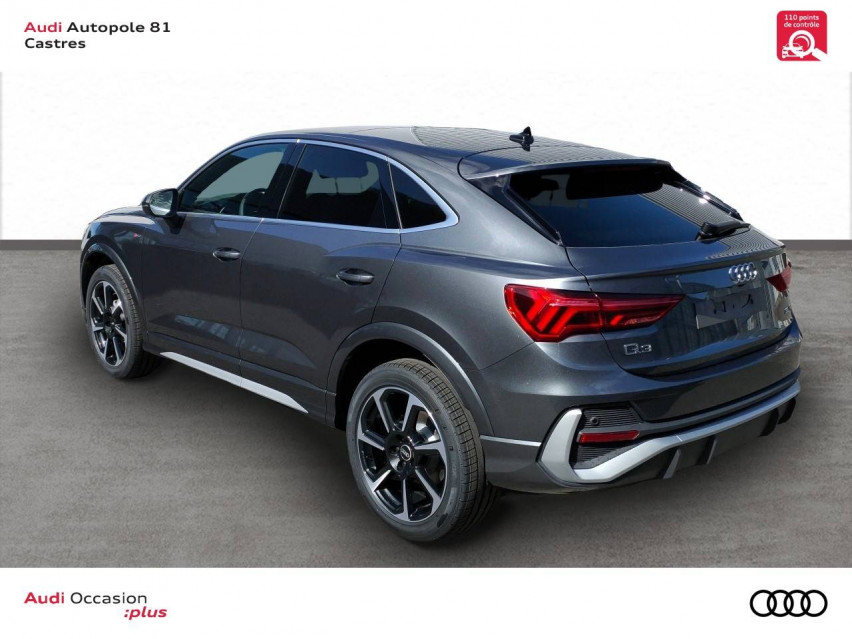 Photo voiture AUDI Q3 Q3 Sportback 35 TDI 150 ch S tronic 7 S Edition 5p     neuve en vente à Castres à 49289 euros