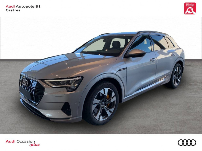 Photo voiture AUDI e-tron e-tron 50 quattro 313 ch Avus 5p     occasion en vente à Castres à 58586 euros